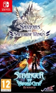 Jaquette de « Saviors of Sapphire Wings / Stranger of Sword City Revisited »