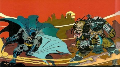 Image de « Batman Vs Predator »