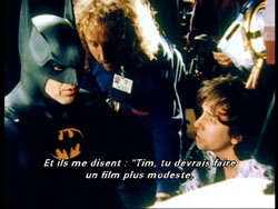 Tim Burton face au Dark Knight