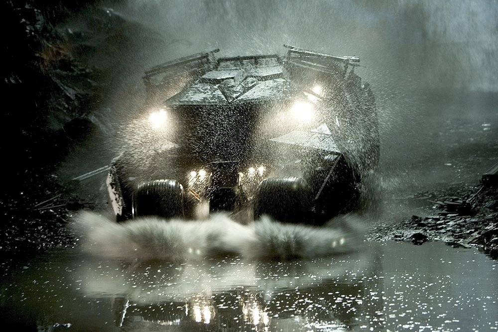 La Batmobile en action
